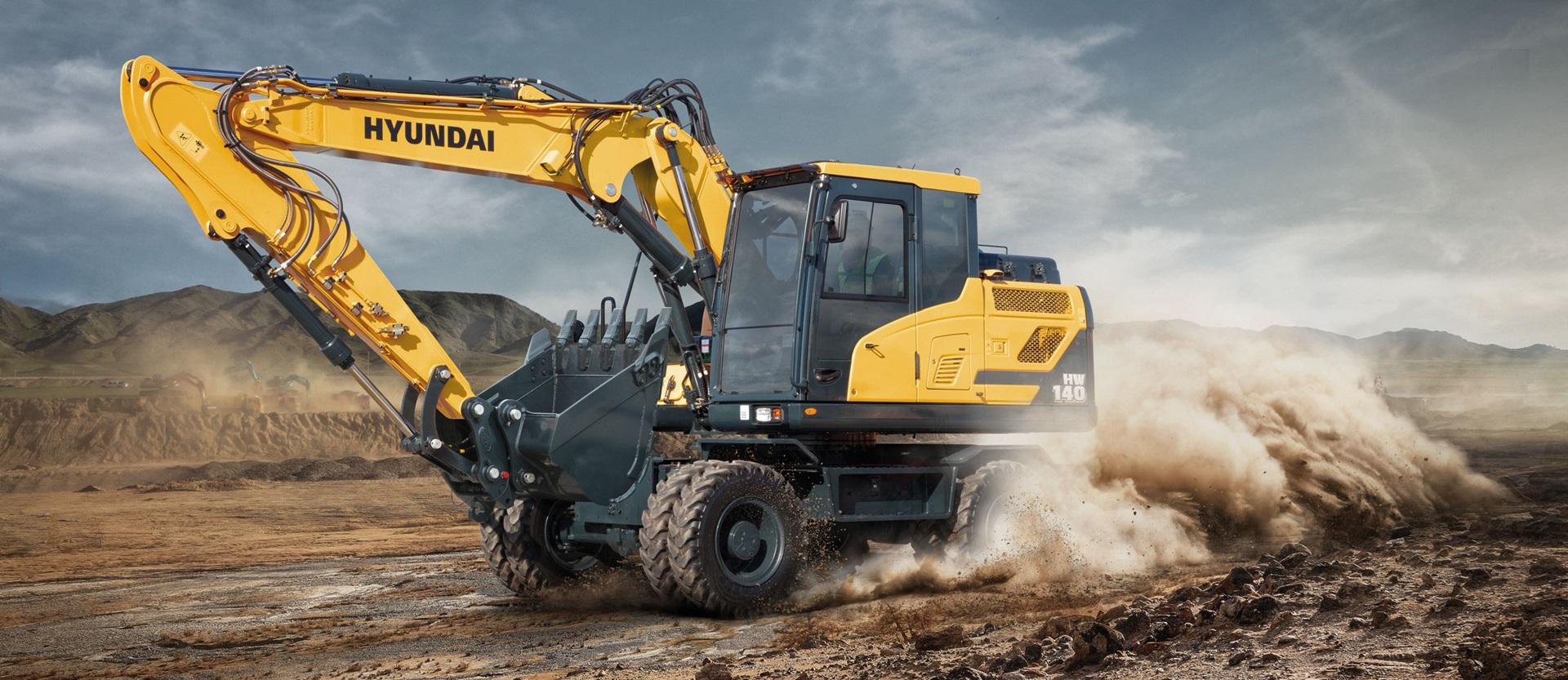 Excavators | Hyundai Construction Equipment Europe