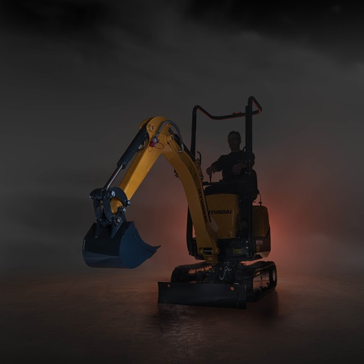 The new Hyundai HX10A Compact Excavator
